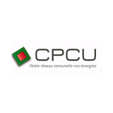 Logo CPCU, Notre réseau renouvelle vos énergies
