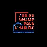 Logo Union Sociale pour l'Habitat, les hlm, l'habitat en mouvement