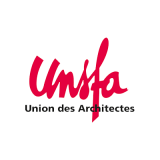Logo unsfa, union des architectes